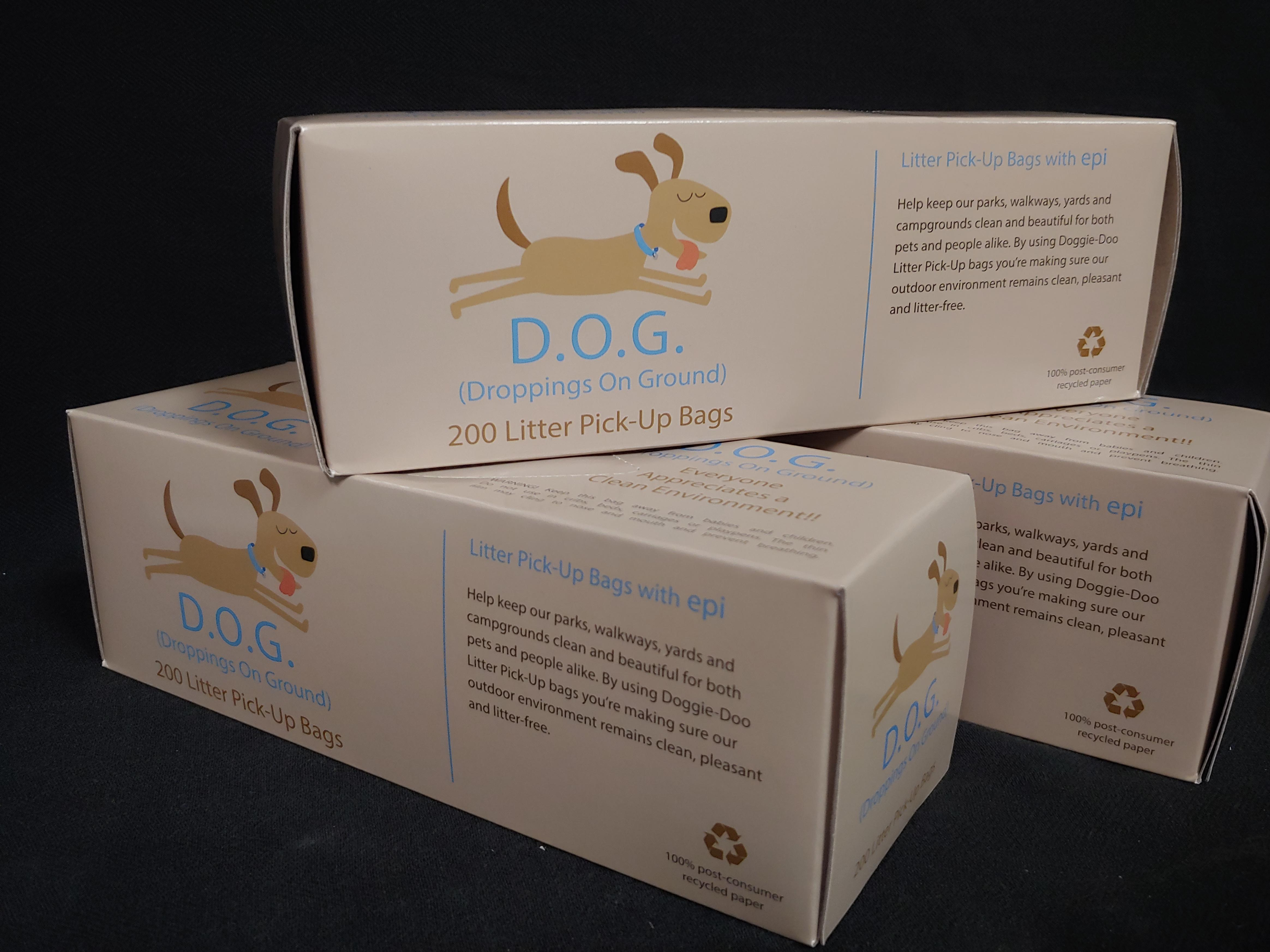 rolled dog waste bags - Dog Waste Bags