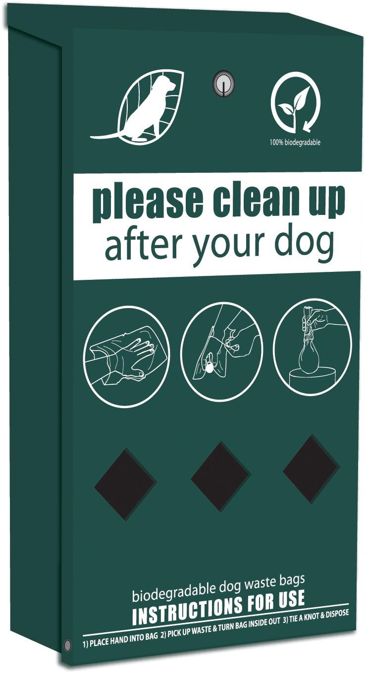 rolled dog waste bag dispenser - Dog Waste Bags