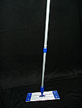 "18"" Microfiber Mop Frame and Extendable Mop Handle"